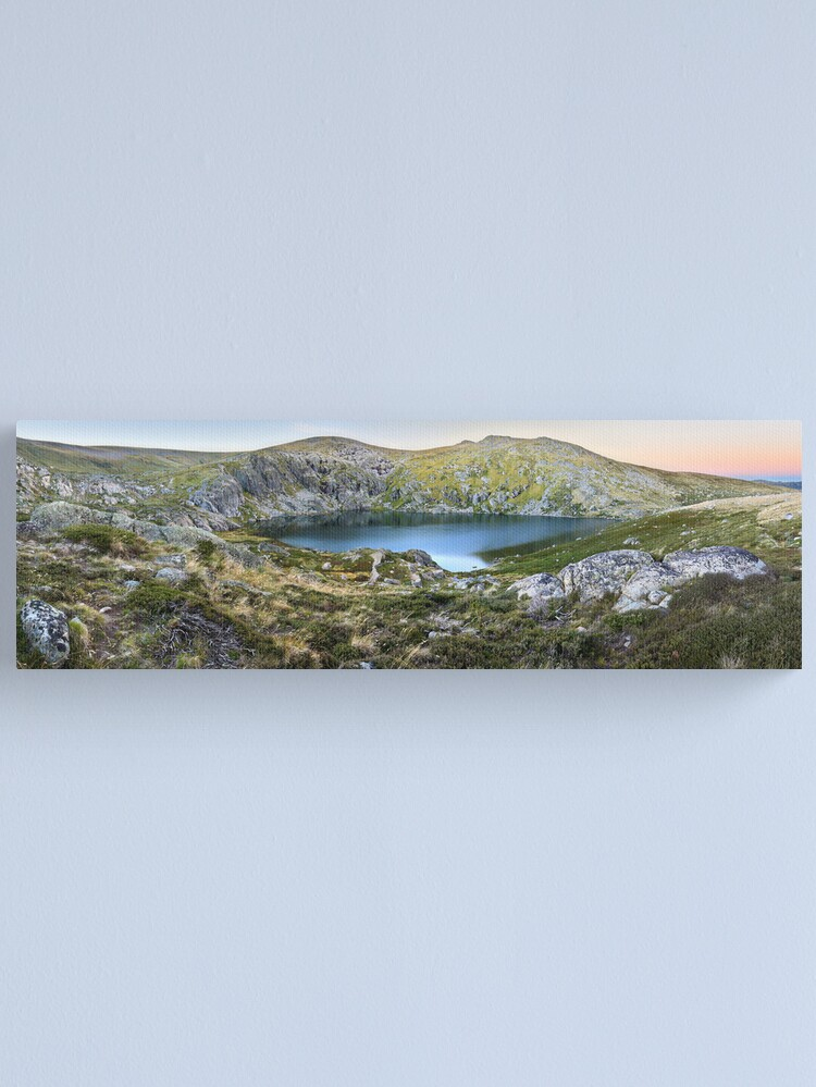 Alternate view of Blue Lake, Kosciusko National Park, Australia  Canvas Print