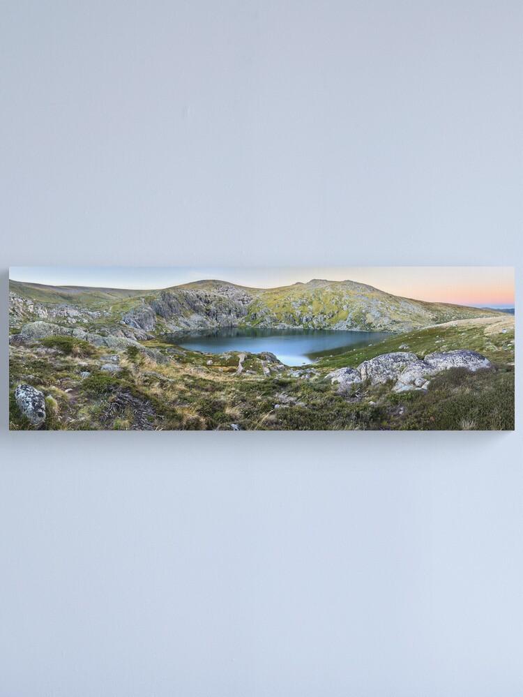 Alternate view of Blue Lake, Kosciusko National Park, Australia  Canvas Print
