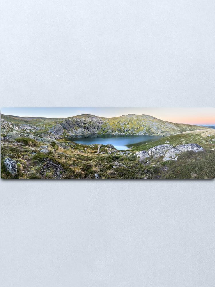 Alternate view of Blue Lake, Kosciusko National Park, Australia  Metal Print