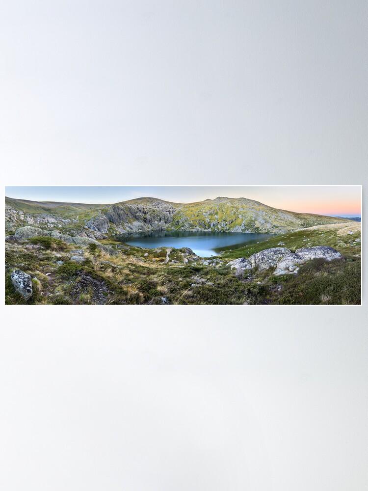 Alternate view of Blue Lake, Kosciusko National Park, Australia  Poster