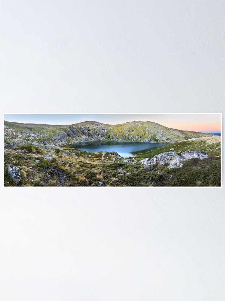 Alternate view of Blue Lake, Kosciusko National Park, Australia  Poster