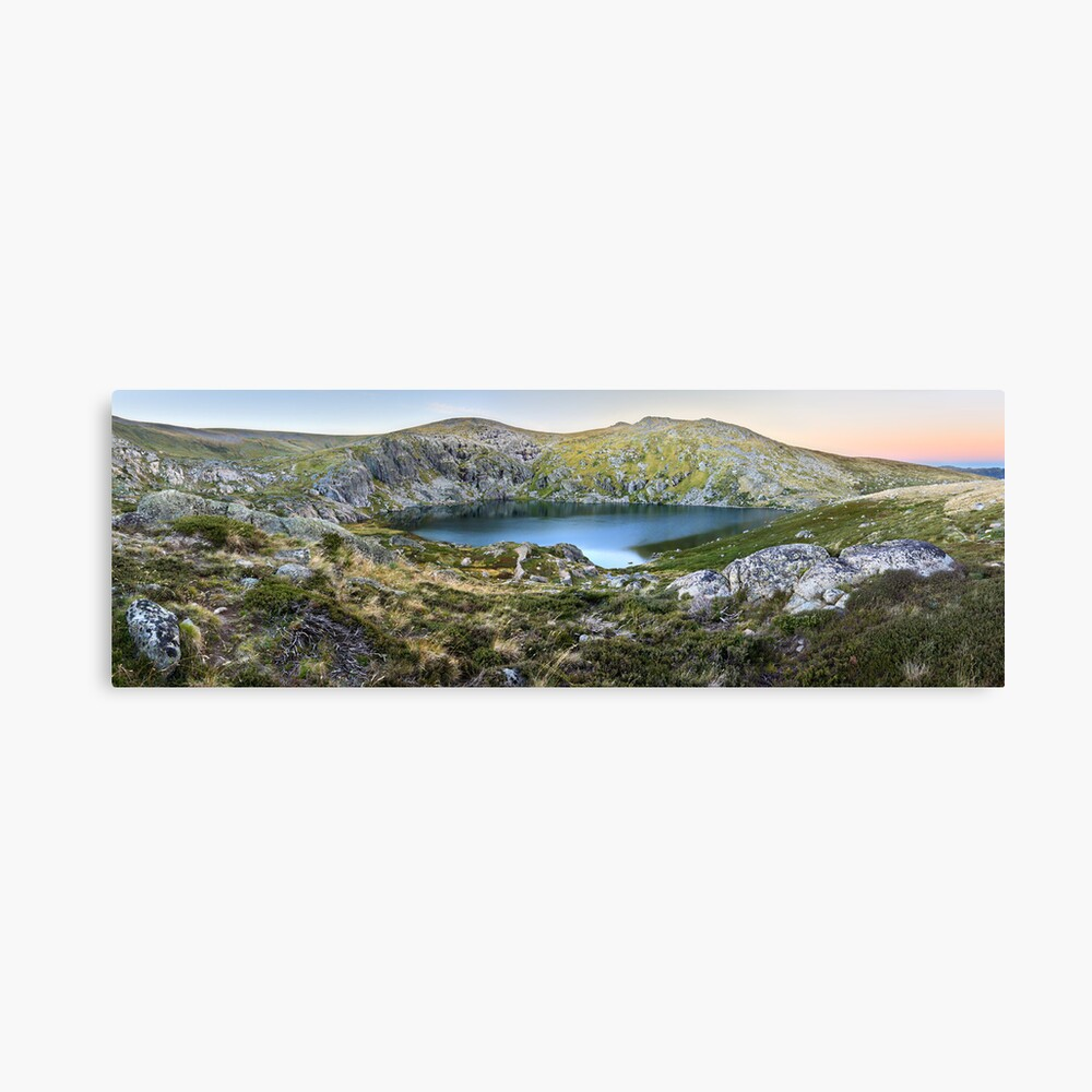 Blue Lake, Kosciusko National Park, Australia  Canvas Print