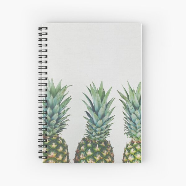 Pineapple Trio Spiral Notebook