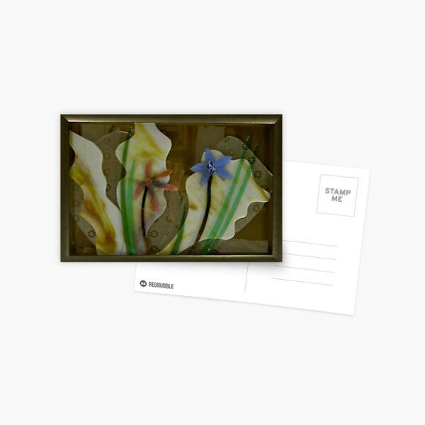 Pacific Kelp and Native Orchids Postcard