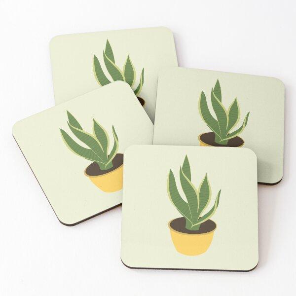 House Plant Coasters (Set of 4)
