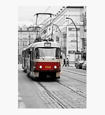 Prague Tram Photographic Print