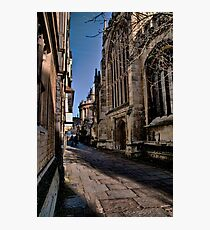 OXFORD....STREET..?! Photographic Print