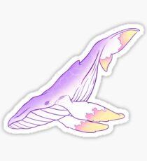 Galaktischer Wal Sticker