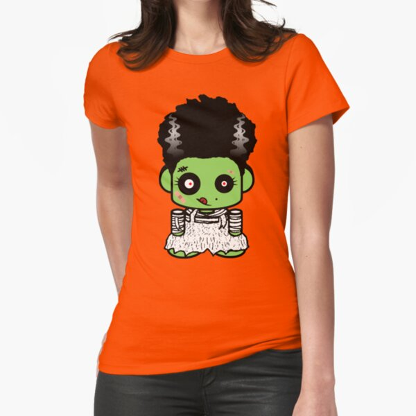 Bride of Zombio'bot 1.0 Fitted T-Shirt