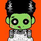 Bride of Zombio'bot 1.0 by Carbon-Fibre Media