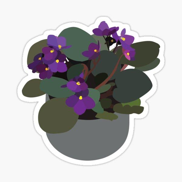 African Violet Sticker