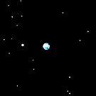 Pale Blue Dot - CU by Hugh Fathers