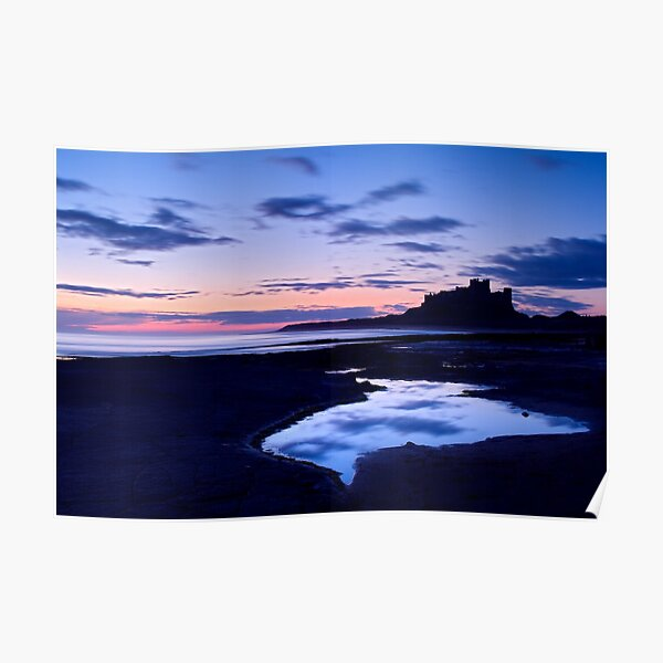 Bamburgh Castle - Pre Dawn Poster