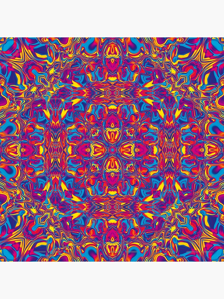Liquefied Flow II - CMY by ifourdezign