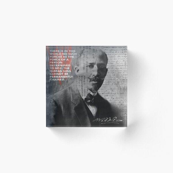 W.E.B Du Bois Acrylic Block