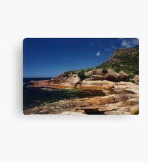 Rocky Coastline, Freycinet National Park, Tasmania Canvas Print