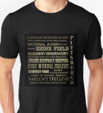 Pittsburgh Pennsylvania Famous Landmarks T-Shirt