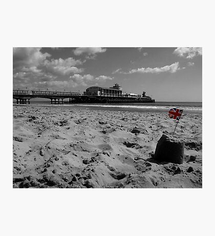 Bournemouth Pier in Black and White Photographic Print