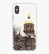 Notre Dame - Golden Dome iPhone Case