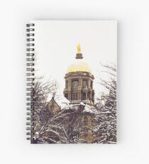 Notre Dame - Golden Dome Spiral Notebook