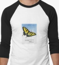 Lifelong Learning Butterfly Baseball ¾ Sleeve T-Shirt