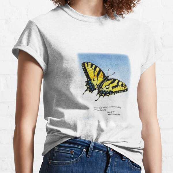 Lifelong Learning Butterfly Classic T-Shirt