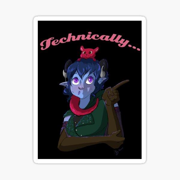 Technically... Sticker