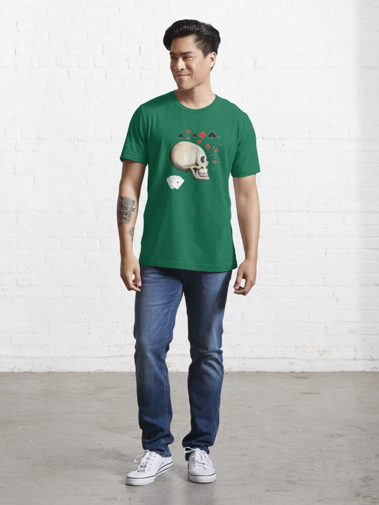 Alternate view of Poker Face Essential T-Shirt