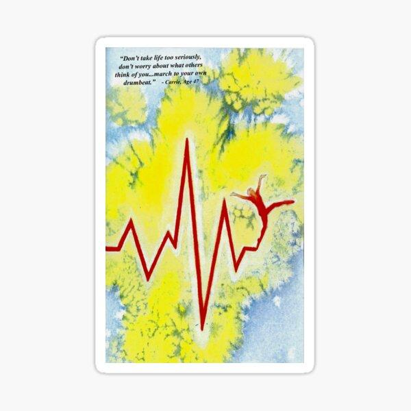 Cardiac Dancer Sticker