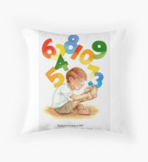 Counting Toes: Childhood Innocence Throw Pillow
