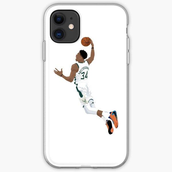 Giannis Antetokounmpo iPhone Soft Case