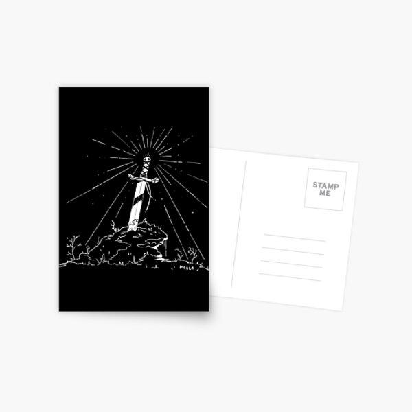 Sword Postcard