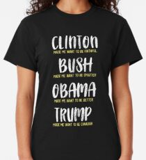 Trump made me want to be a Canadian Classic T-Shirt