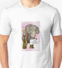 Ageism: The Elephant in the Room Slim Fit T-Shirt