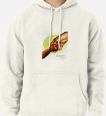 Holding Hands Across Generations Pullover Hoodie