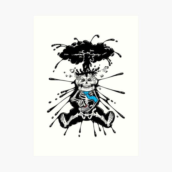 Adam Tar Bomb Art Print