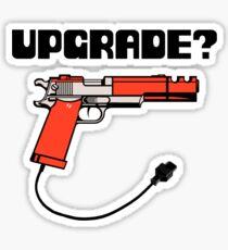 Take Upgrade?  Sticker