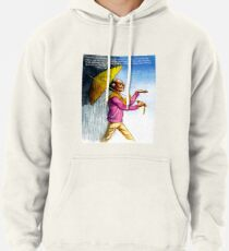 Choose to Enjoy Life Even on the Rainiest Days Pullover Hoodie