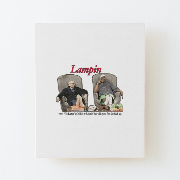 Lampin - Limitez votre enthousiasme Impression montée sur bois