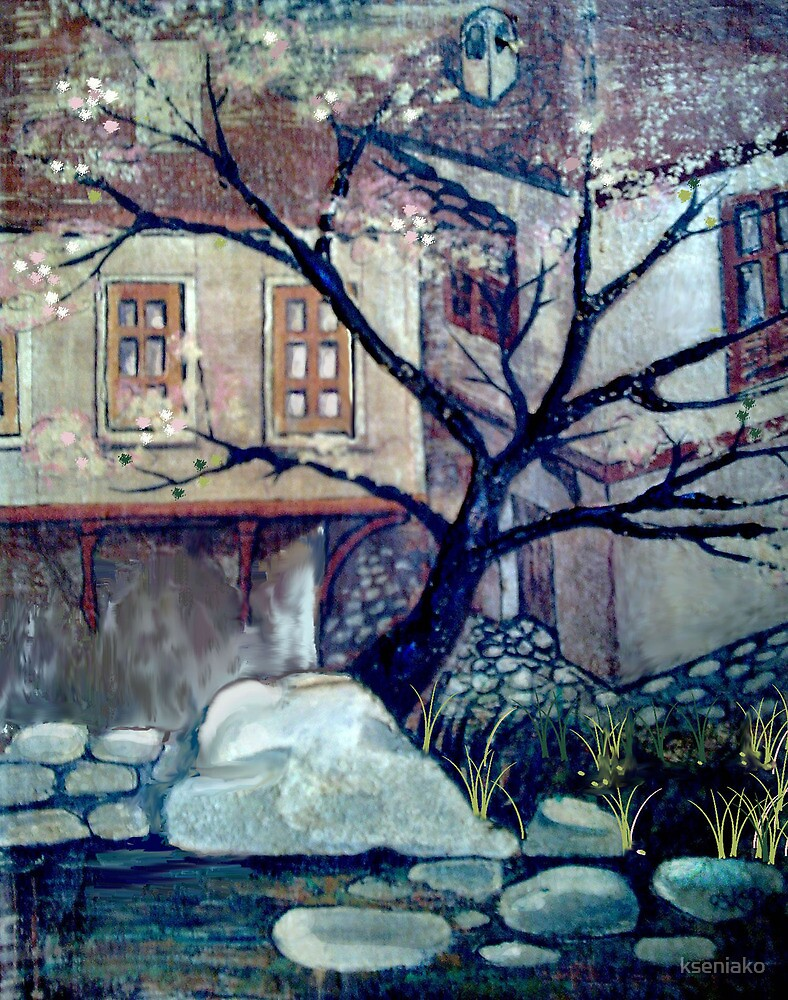 OLD HOUSES by kseniako