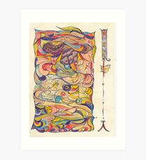 Projective Abstract #1 Art Print