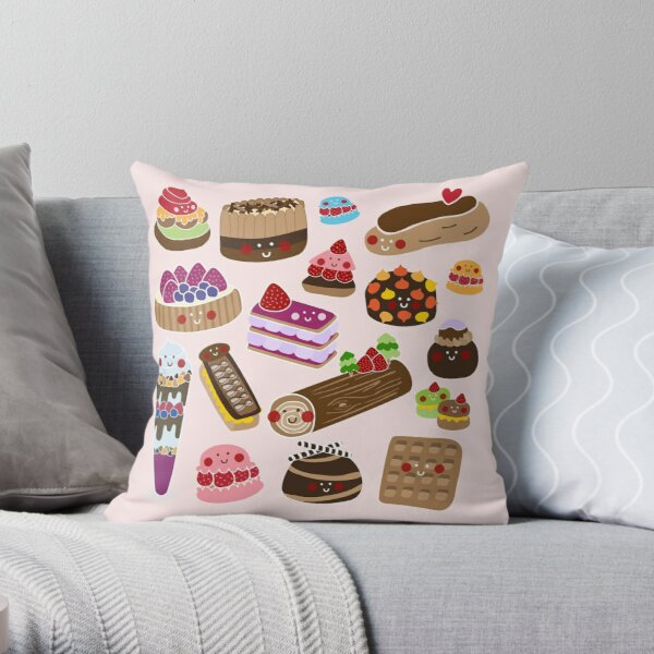 Sweet tooth Throw Pillow