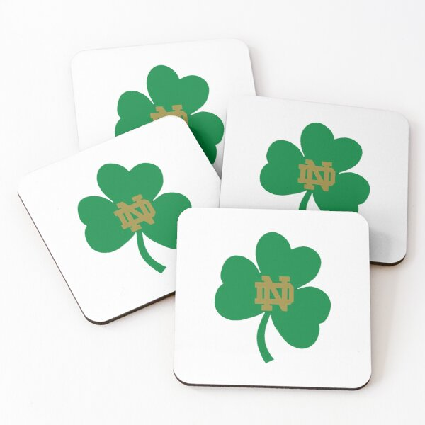 notre dame fighting  Coasters (Set of 4)