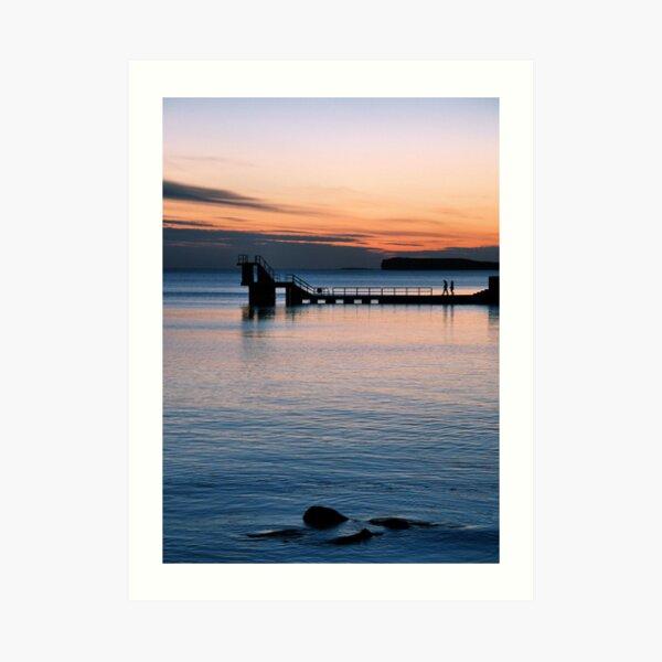 galway sunset.. Art Print