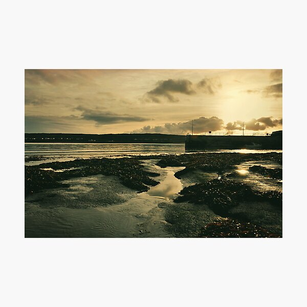 kilronan sunset.. aran islands Photographic Print