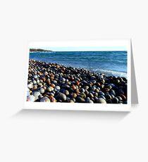 Lake Superior Rocks 2 - Marathon Ontario Canada Greeting Card
