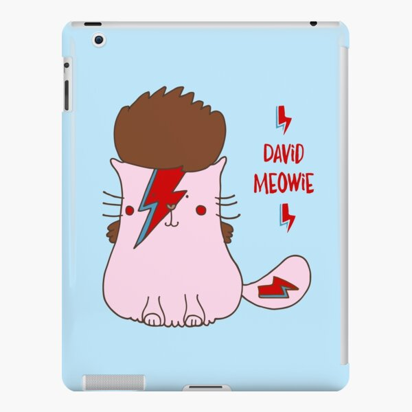 David Meowie iPad Snap Case