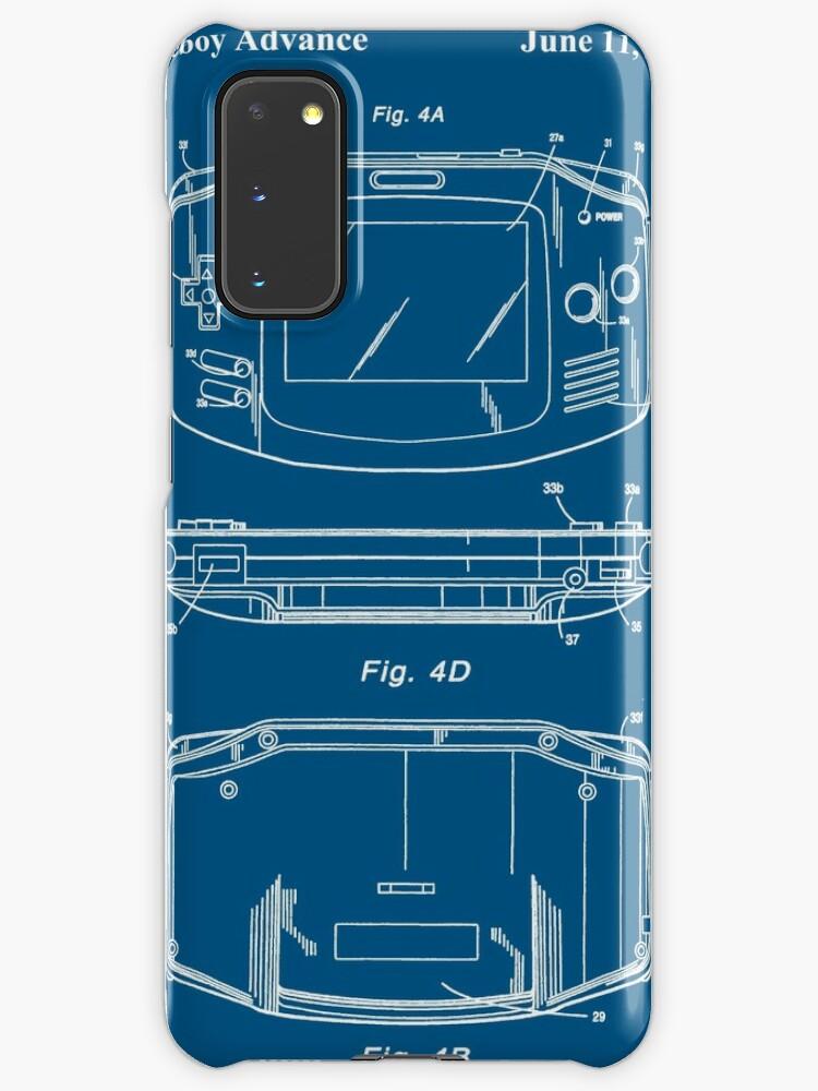 Blueprint Gameboy Advance | Blueprint de Nintendo | Coque et skin adhésive Samsung Galaxy
