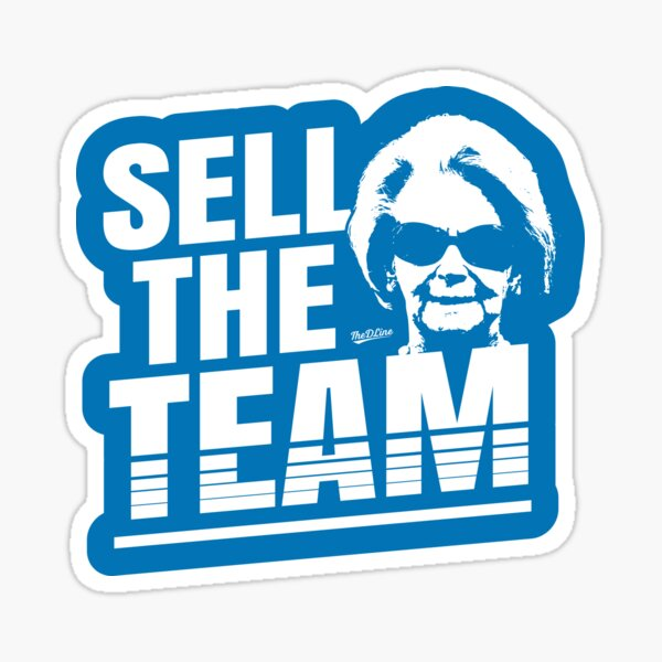 Sell The Team Sticker