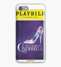 Cinderella Playbill iPhone Case/Skin